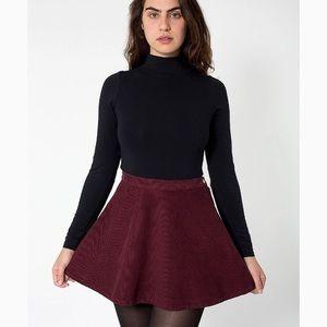 American Apparel corduroy circle skirt - L